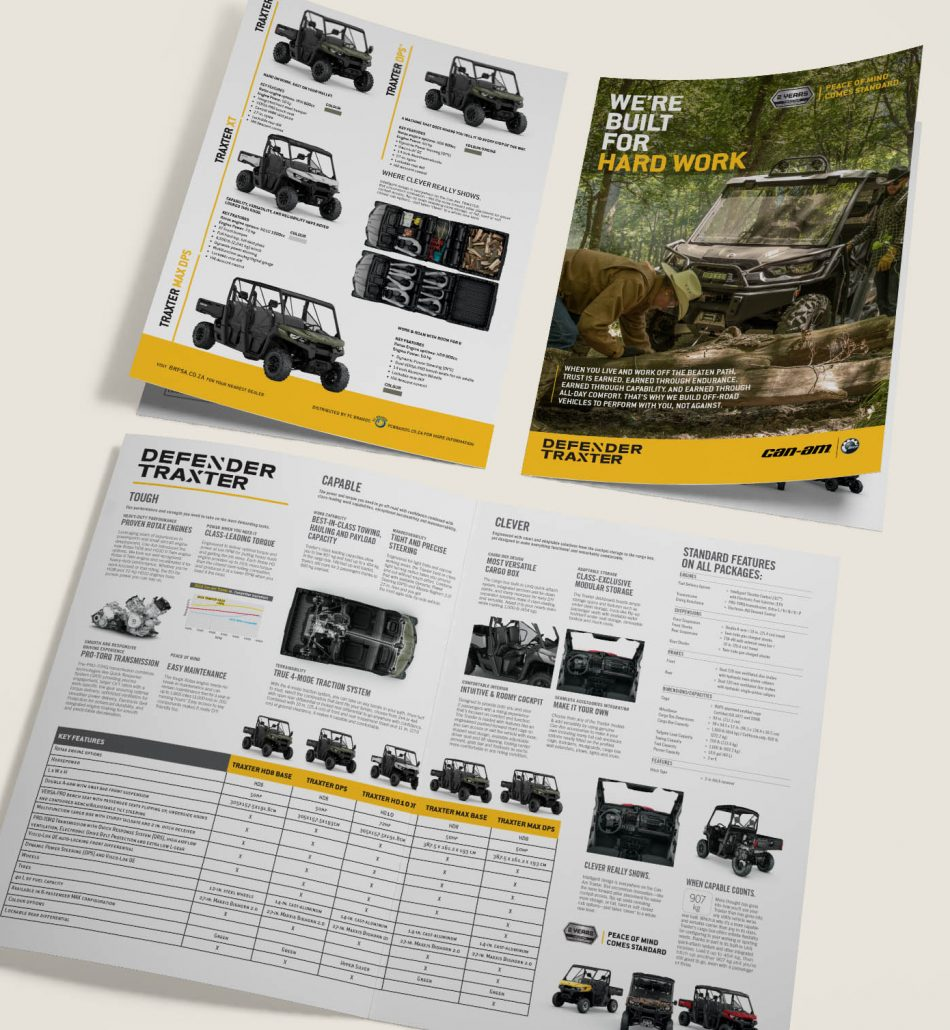 Can-Am South Africa Catalogues
