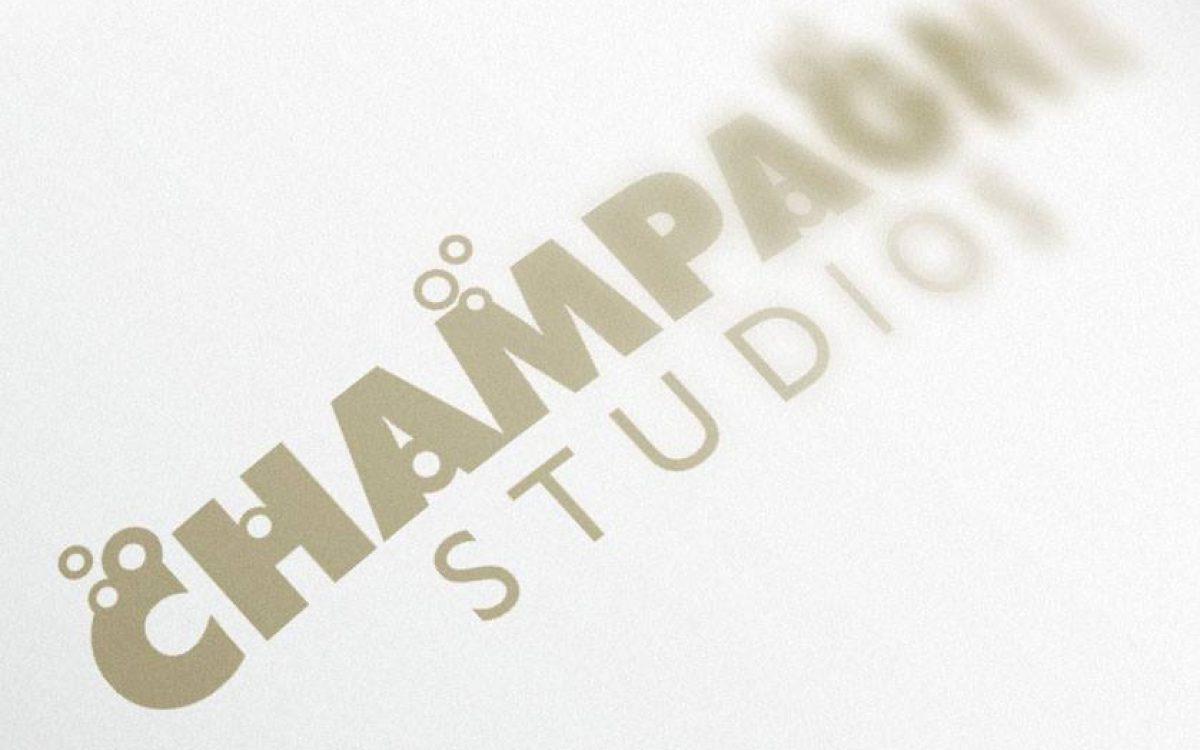 Champagne Studios Logo Design