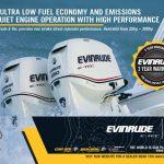 Evinrude Ski Boat Magazine Half Page Advert