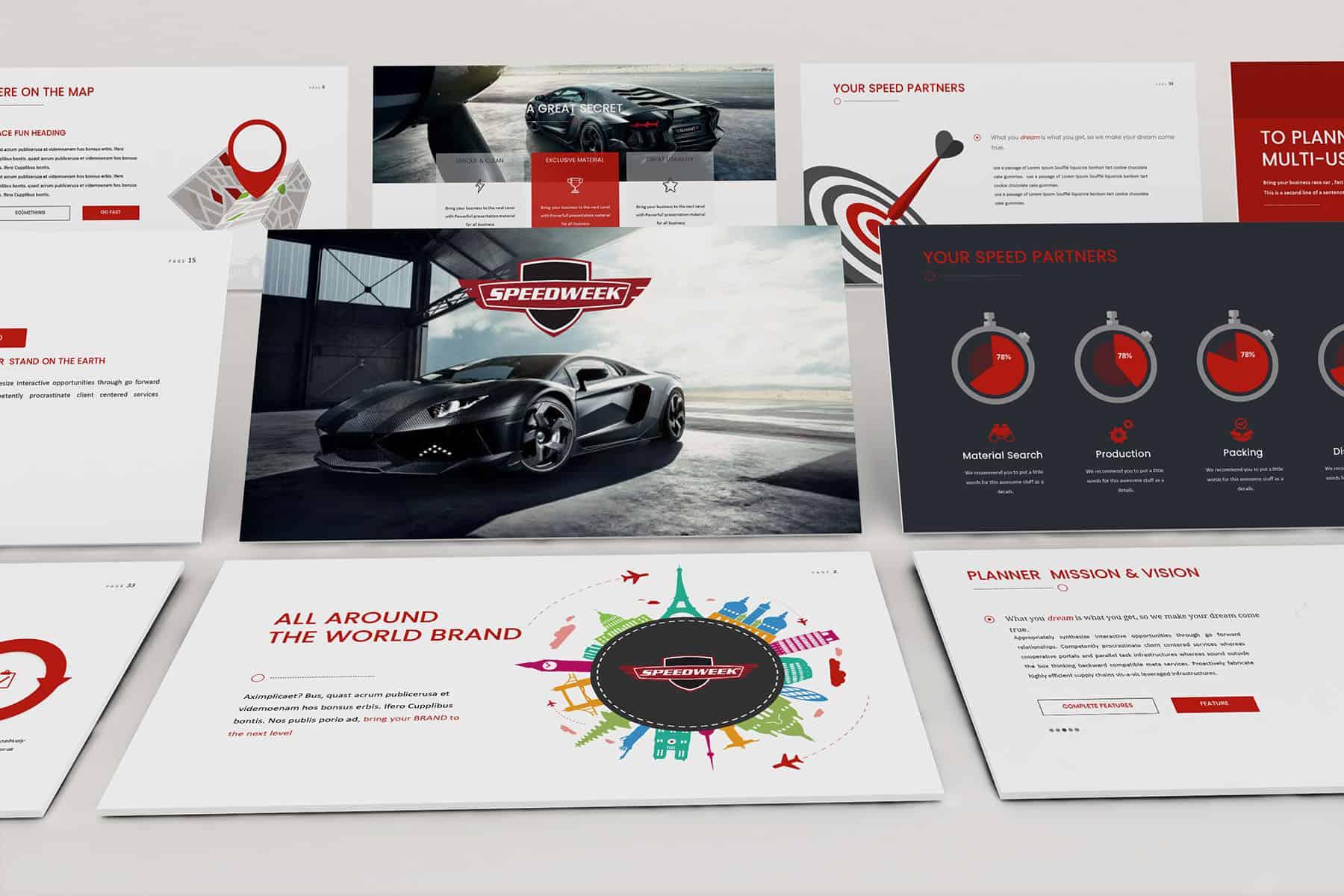 Speedweek Sponsorship Presentation